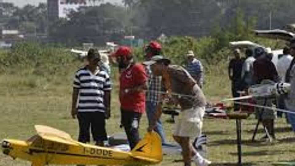 Currently, aeromodellers fly their aircraft at Mahalaxmi racecourse orAmby Valley near Lonavla.