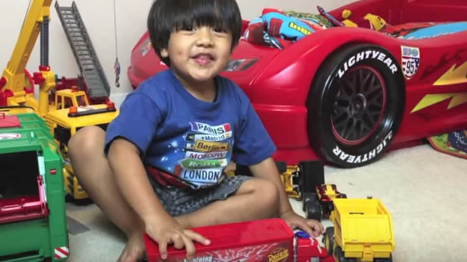 Ryan was only four when he started his YouTube channel Ryan ToysReview with the help of his family