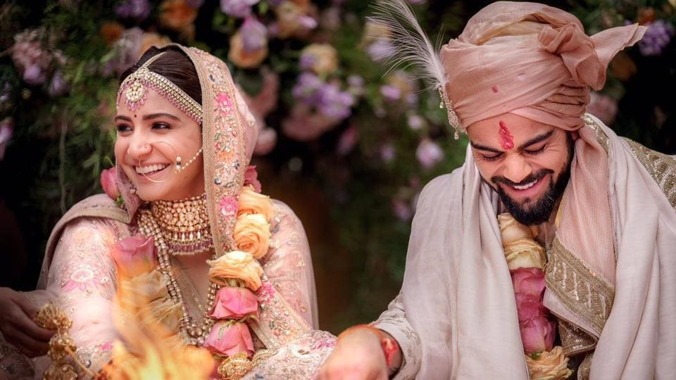 Virat Kohli Wedding.Anushka Sharma And Virat Kohli Married In Italy Grand Reception
