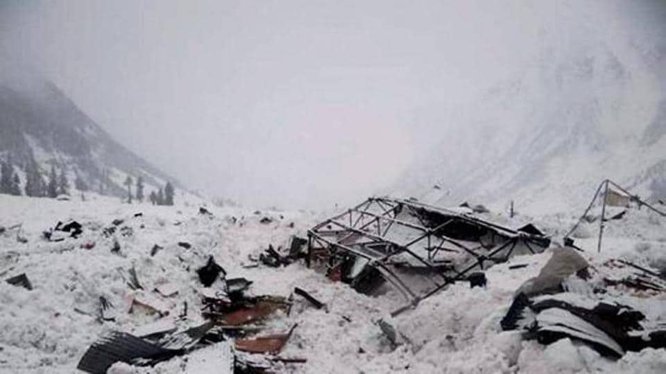 An army jawan who was trapped in  avalanche  near Rohtang Tunnel's north portal since Saturday evening was rescued on Sunday.