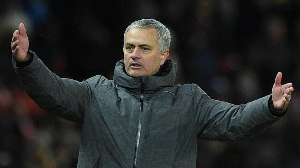 Jose Mourinho-coached Manchester United F.C. lost to Manchester City F.C. in their Premier League encounter on Sunday.