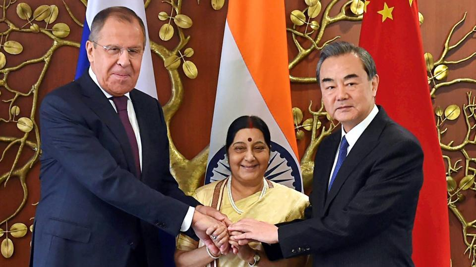 India, Russia, China resolve to combat terrorism
