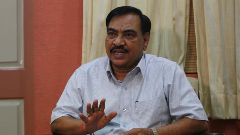 Eknath Khadse,politics,graft allegations