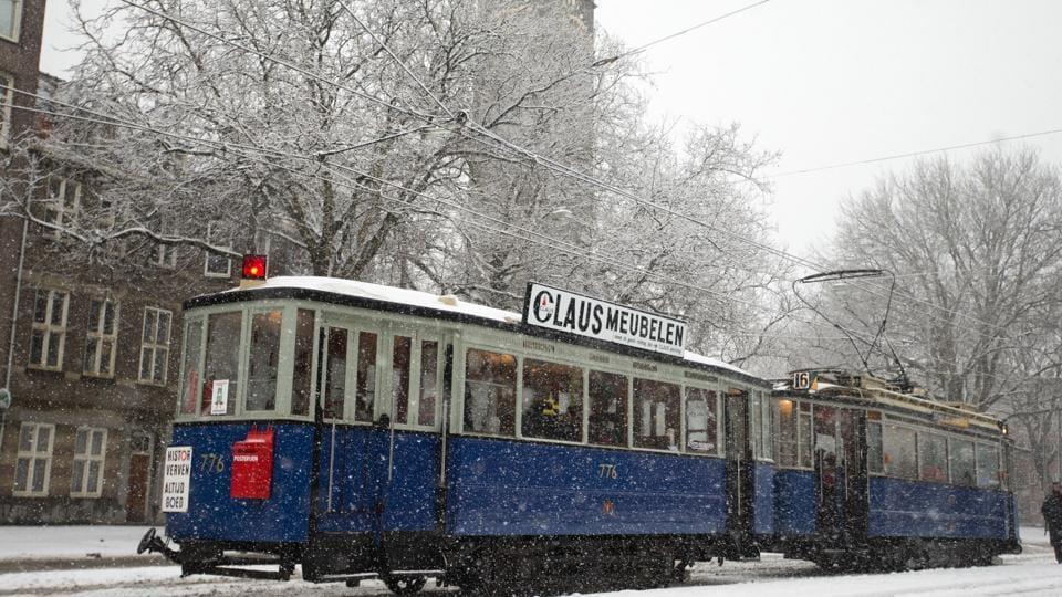 Heavy snow,Europe,Weather