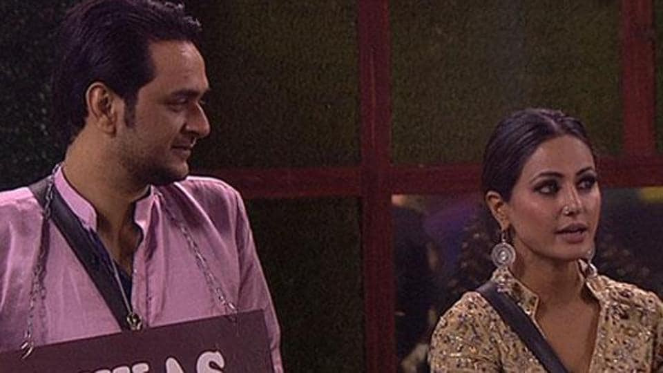 Hina Khan and Vikas Gupta get into yet another argument on Sunday.