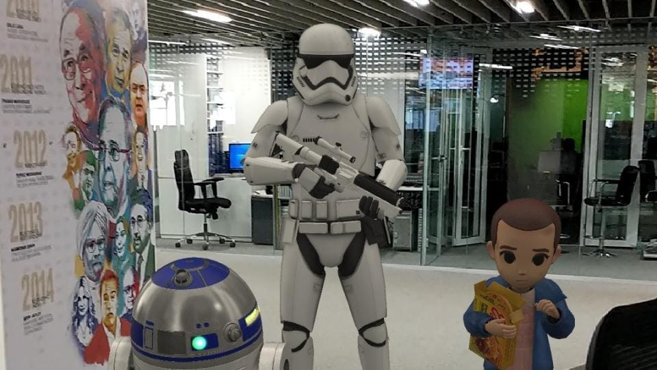 Stormtrooper looks so real