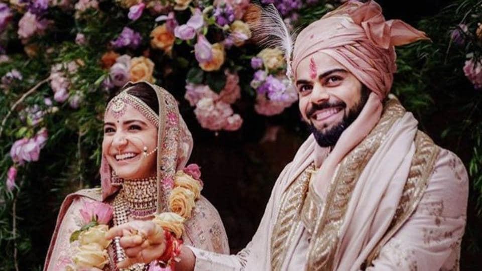 Newlyweds Anushka Sharma, Virat Kohli spotted cuddling in resort's balcony. See pics