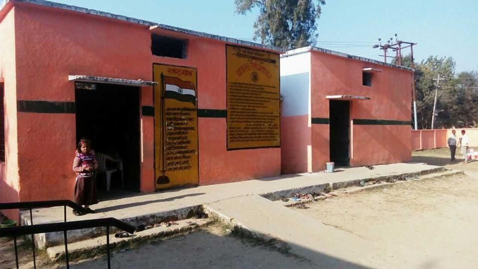 Such is the saffron frenzy that reportedly over 80 of the 1,230 primary schools in Pilibhit district were painted saffron.