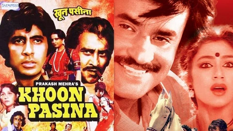 11 films where Rajinikanth acted in an Amitabh Bachchan remake and