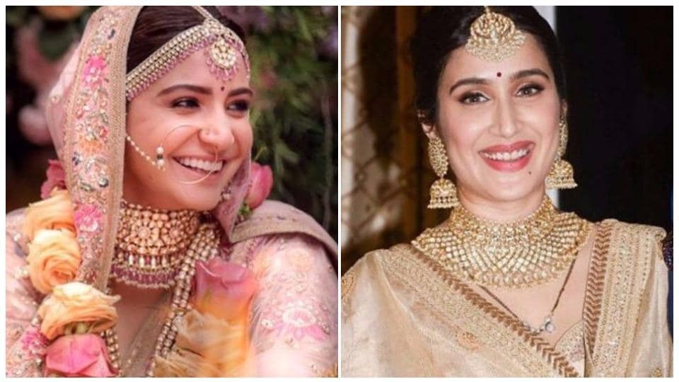 With Anushka Sharma's princess-like wedding look now in plain sight, we can't help but be reminded of another beautiful Sabyasachi lehenga worn by actor Sagarika Ghatge, recently.