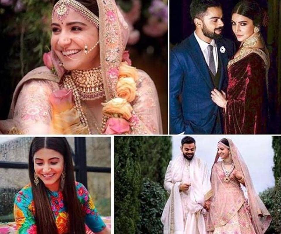 Every Outfit Anushka Sharma And Virat Kohli Wore At Their
