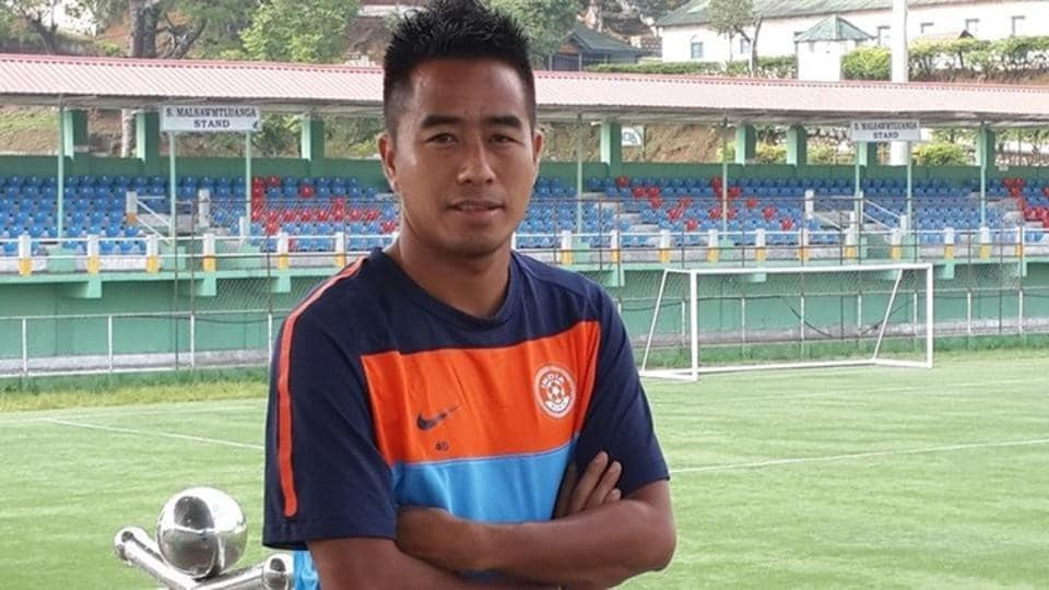 Shylo Malsawmtluanga is leading Aizawl FC's title defence in the I-League as they prepare to take on Churchill Brothers in their first home game of the season.
