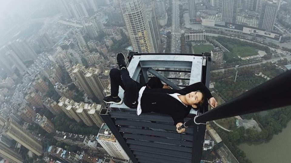 China,Rooftopper,Livestreaming