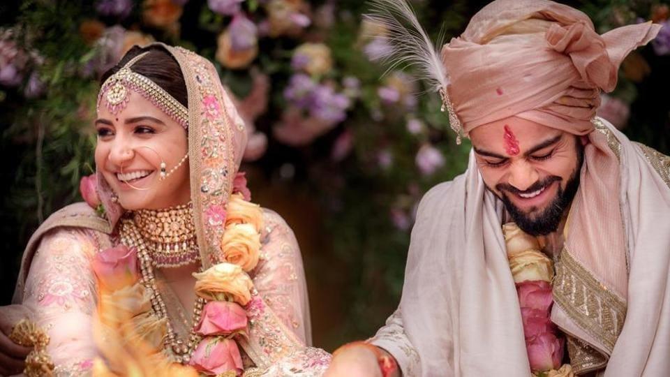 Virat Kohli,Anushka Sharma,Wedding