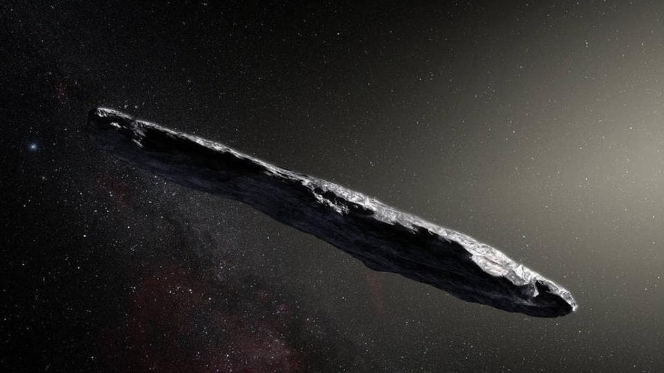 Scientists Reckon Huge Object Flying Past Earth May Be An Alien Spacecraft