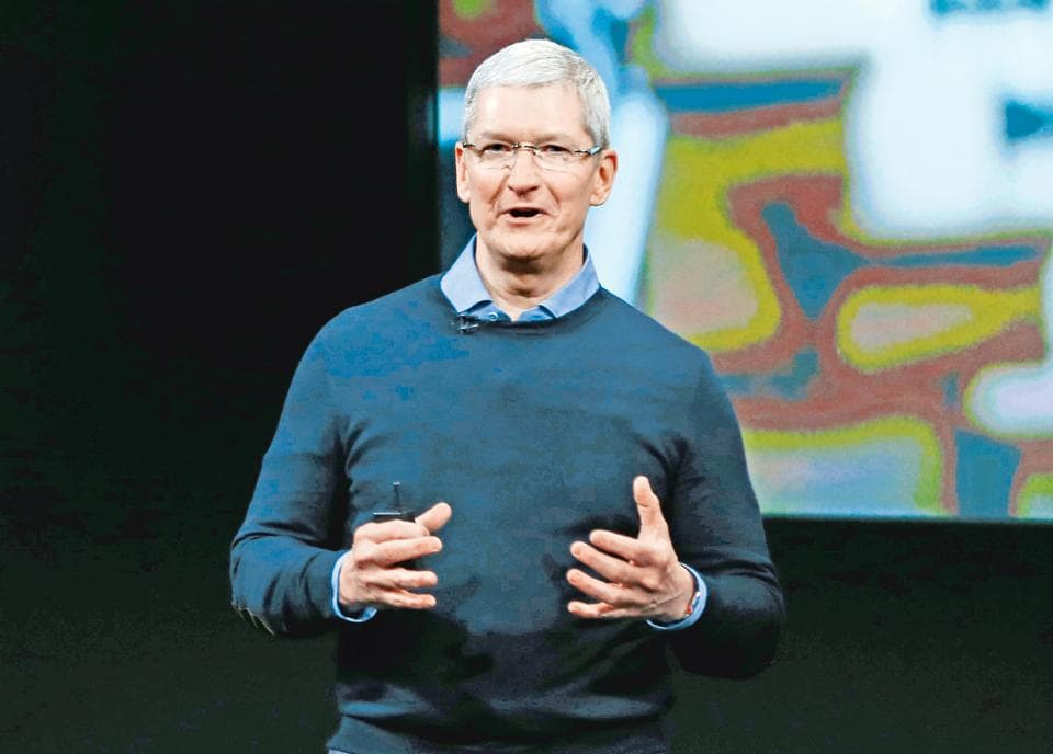 Apple's Tim Cook must fly private.