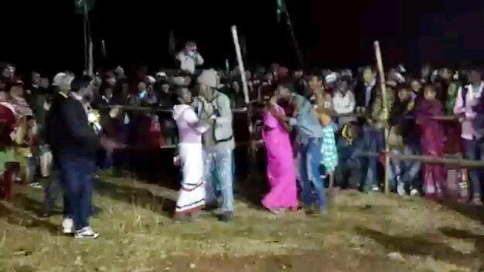 Jharkhand Mukti Morcha's Littipara legislator had organised a kissing contest at his native village Dumaria.