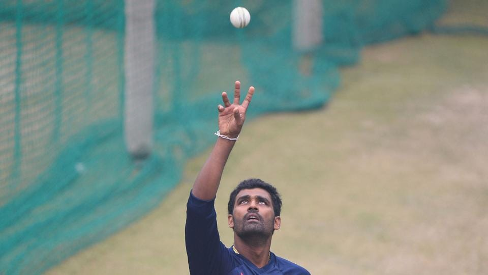Sri Lanka's bowlers stepped up to the plate with Suranga Lakmal taking four wickets.  (AFP)