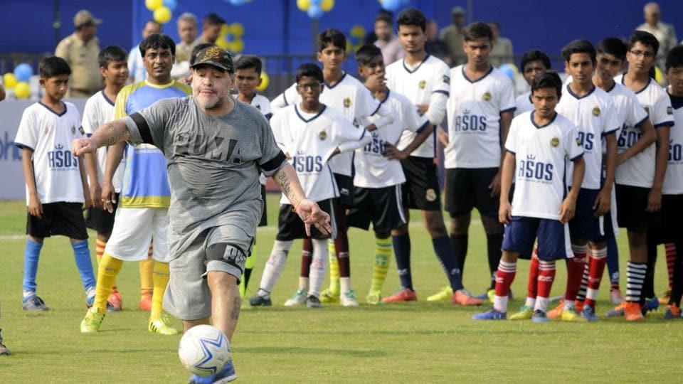 Diego Maradona,Sourav Ganguly,Kolkata