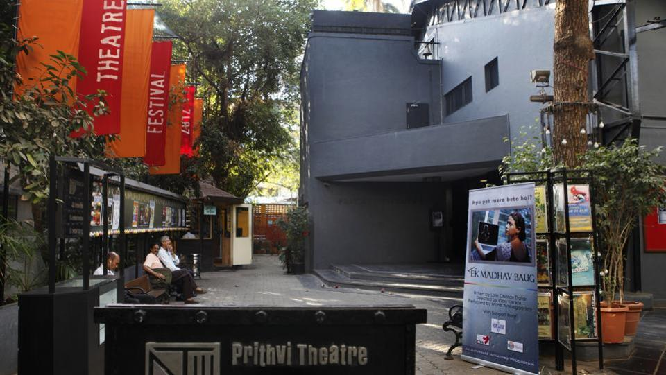 Prithvi theatre got its name from 'Prithvi Theatres,' a travelling theatre troupe founded by Shashi Kapoor's father Prithviraj Kapoor in 1944. It comprised 150 members at its peak. (Satish Bate / HT Photo)