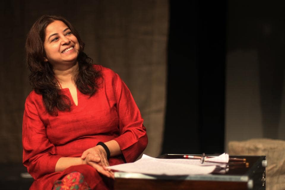 Each year, to remember Jennifer Kapoor, a series of concerts are held at Prithvi Theatre, where prominent artist perform. Here is Rekha Bharadwaj during a rehearsal in 2011. (Puneet Chandhok / HT Photo)