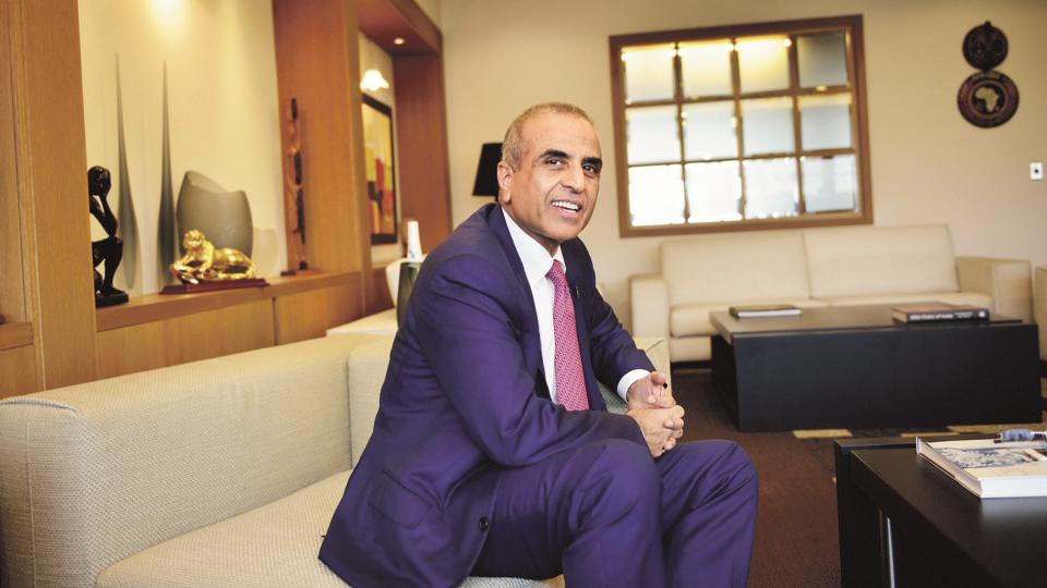 Bharti group chairman Sunil Mittal