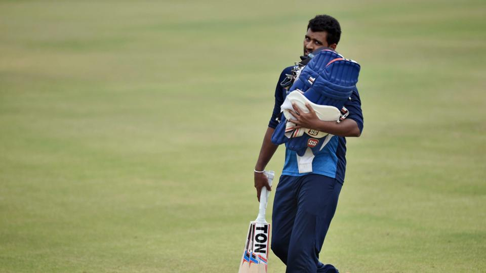 Sri Lanka's win in Dharamsala snapped their 12-match losing streak in ODIs.  (PTI)