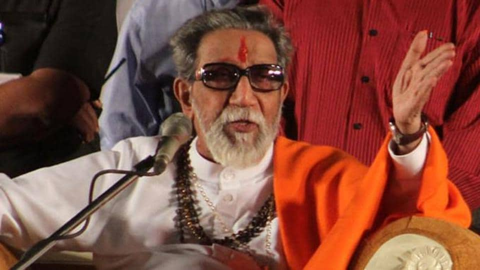 Shiv Sena founder Bal Thackeray.