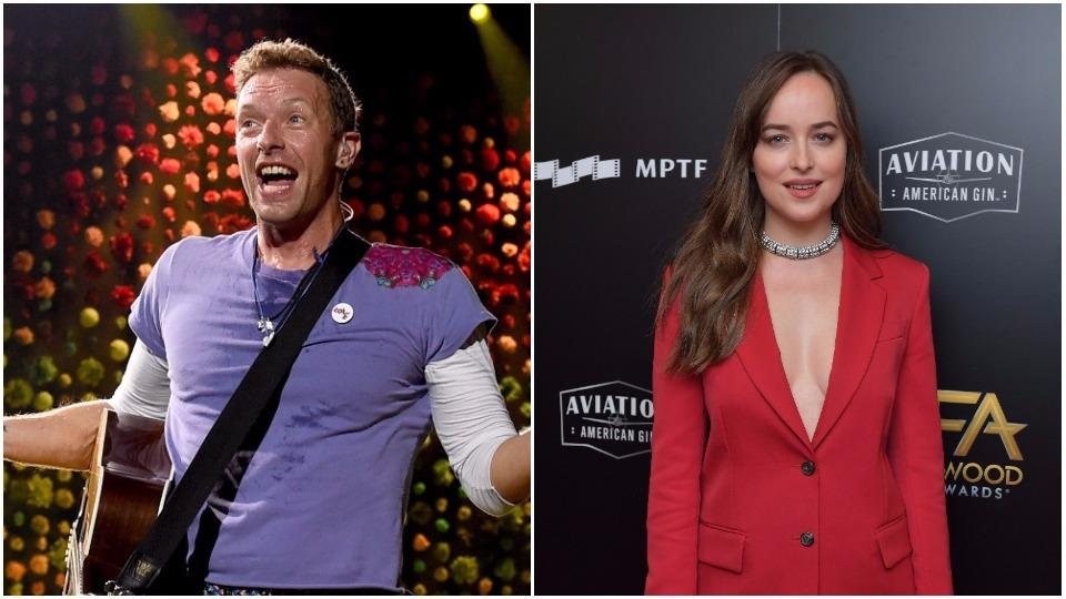 Has Chris Martin found love again in Dakota Johnson?
