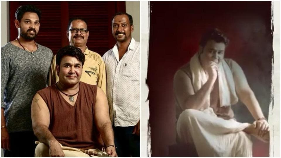 Mohanlal shed 18 kgs to portray the young Manickan in his upcoming film Odiyan.