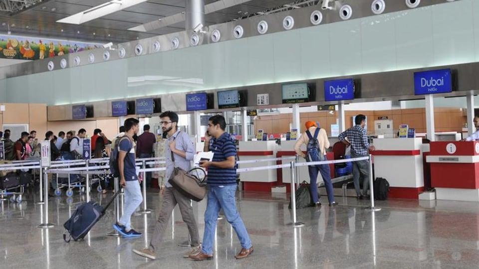Chandigarh airport,chandigarh flights,railways
