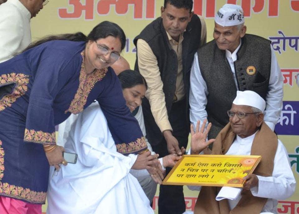 Anna Hazare,Arvind Kejriwal,Social activist