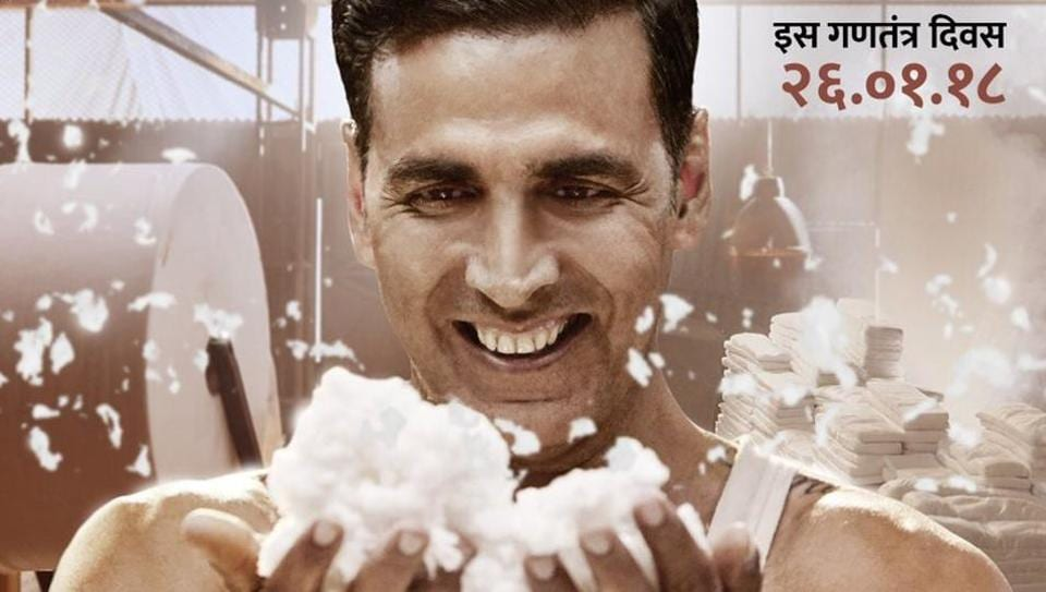 Akshay Kumar plays the titular role in PadMan.