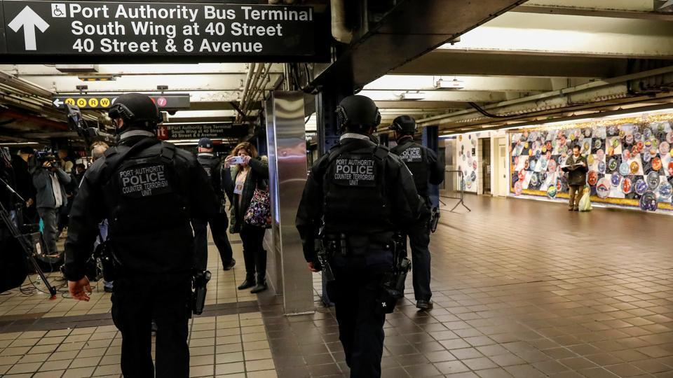 New York bomb suspect,Subway attack,Bomb blast