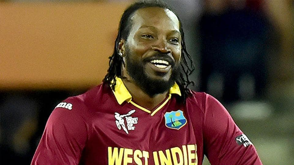 Chris Gayle became the first batsman in Twenty20 history to smash 20 centuries in the shortest format as the left-hander also went past 11000 runs.