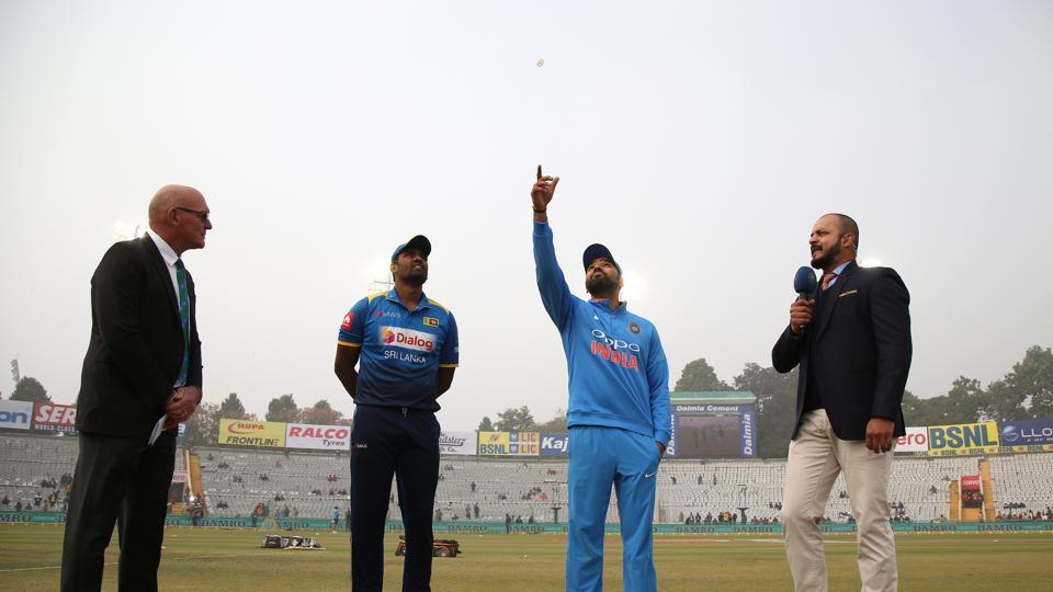 Sri Lanka won the toss and chose to bowl under overcast conditions. (BCCI)