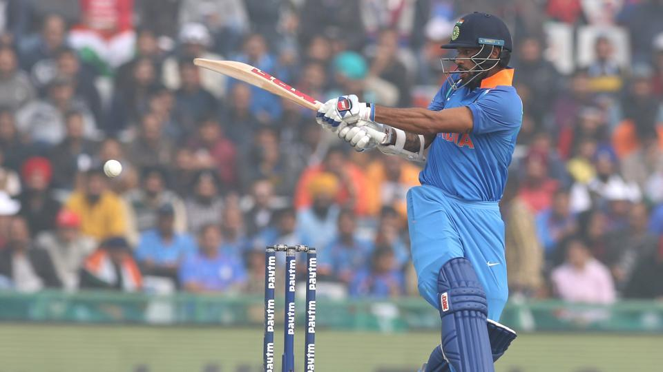 Shikhar Dhawan started well and raced away to a magnificent fifty. (BCCI)