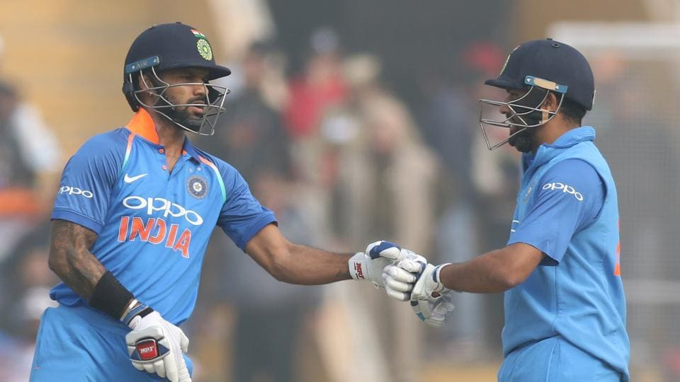 Rohit and Dhawan's partnership went past 100 as Sri Lanka struggled. (BCCI)
