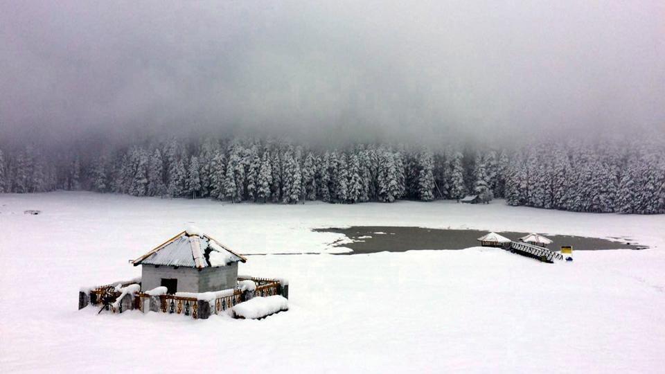 Snowfal in himachal,Manali,Shimla