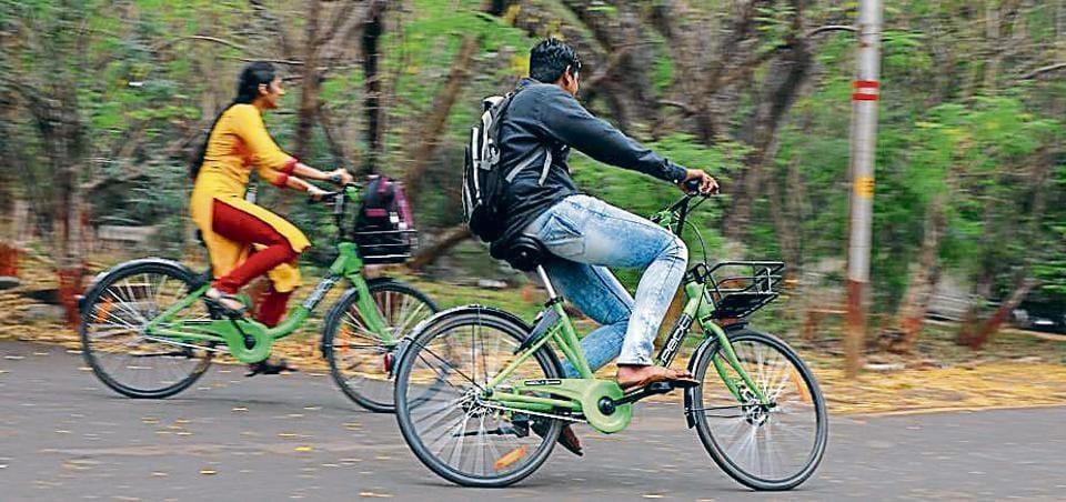Pune,public cycle sharing,scheme increasing