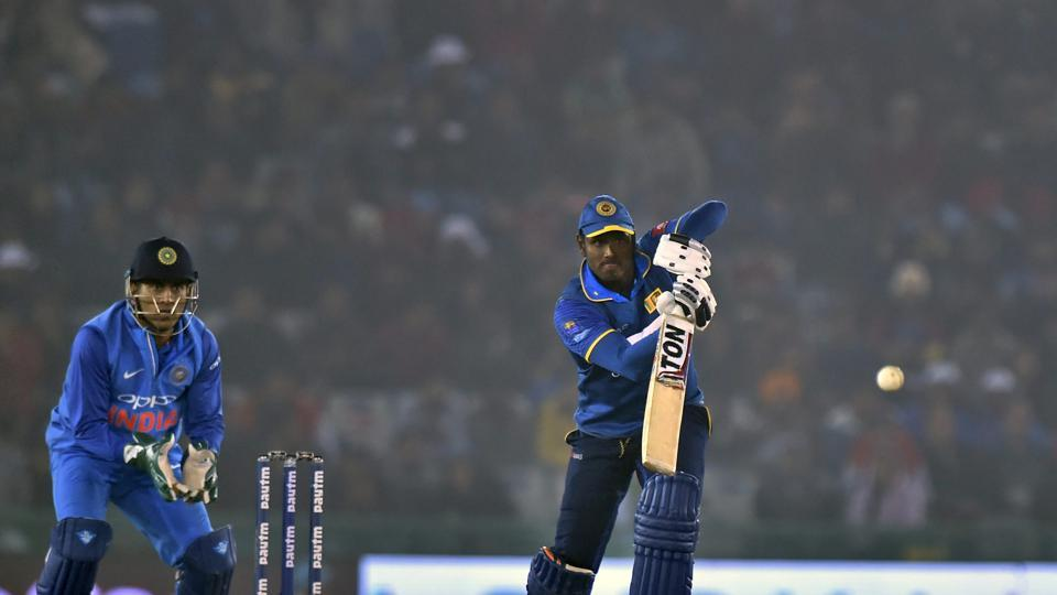Angelo Mathews scored his second century but it went in vain as Sri Lanka lost by 141 runs.  (PTI)