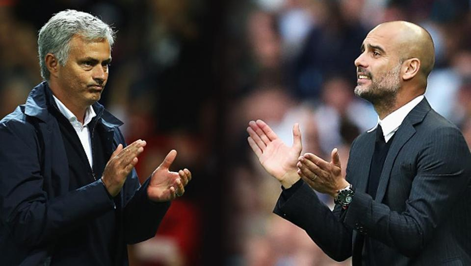 Jose Mourinho maintained his side did nothing wrong at the Etihad Stadium after the Manchester derby, but Pep Guardiola apologised for his teams' over-zealous celebrations.