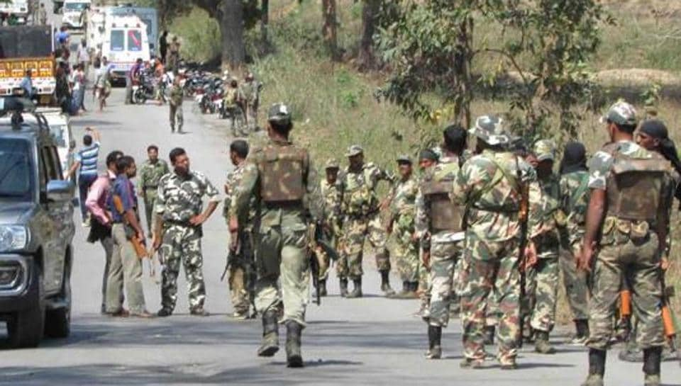Chhattisgarh police,Maoists,CRPF
