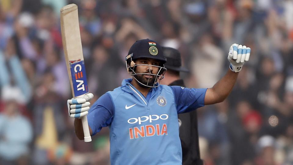 Rohit Sharma, who got out cheaply in Dharamsala, hit his third double century in the second ODI between Indian cricket team and Sri Lanka cricket team in Mohali on Wednesday.