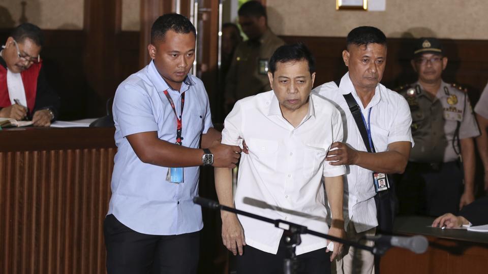 Indonesia,Indonesia politician,Corruption trial