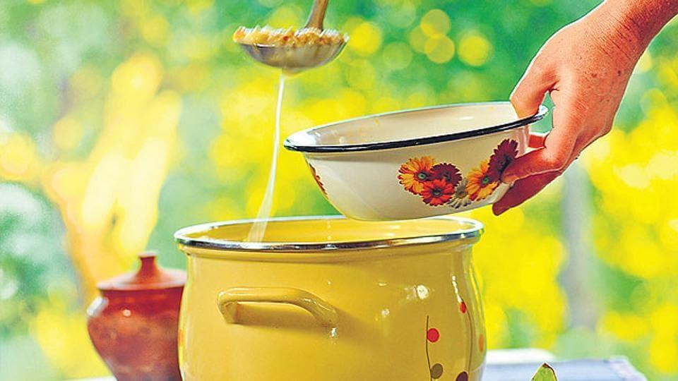Mutton soup,Telangana,Murder