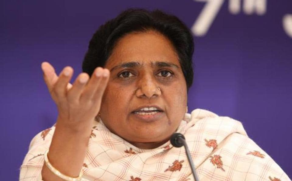 A fresh political controversy erupted  with former chief minister Mayawati accusing the Bharatiya Janata Party.