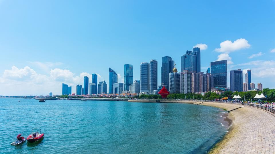 Qingdao is a picturesque area located in Shandong Province in China.