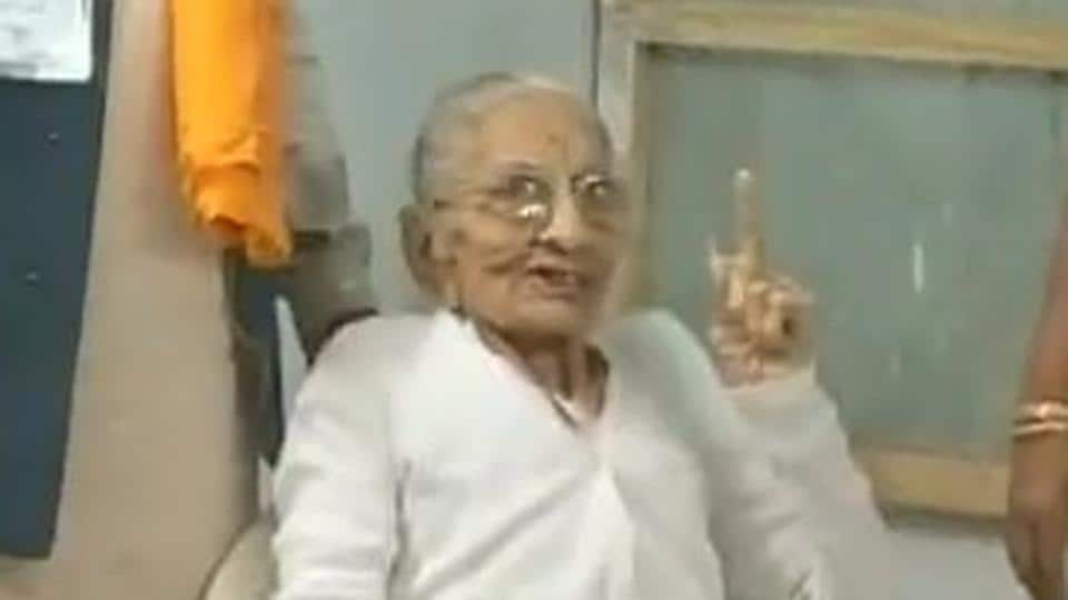 Gujarat elections: PM Modi's mother casts her vote in