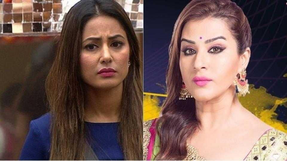 Shilpa and Hina fight over tap water